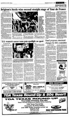 The Galveston Daily News from Galveston, Texas on July 7, 1999 · Page 15
