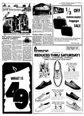 Port Angeles Evening News from Port Angeles, Washington on April 24, 1968 · Page 5