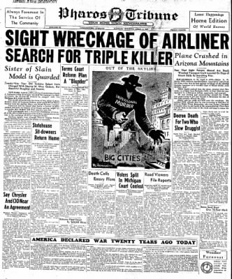 Image result for april 6,1937 tribune
