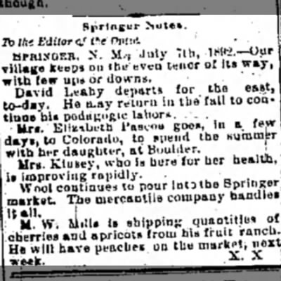 D  Leahy goes East