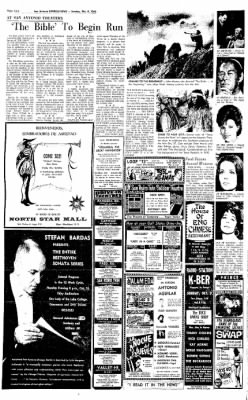 Express and News from San Antonio, Texas on October 9, 1966 · Page 115