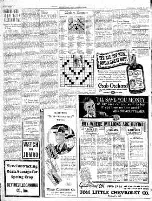 The Courier News from Blytheville, Arkansas on March 31, 1937 · Page 8