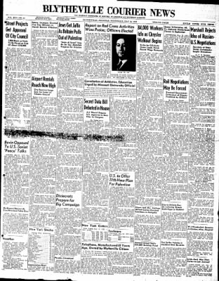 The Courier News from Blytheville, Arkansas on May 12, 1948 · Page 1