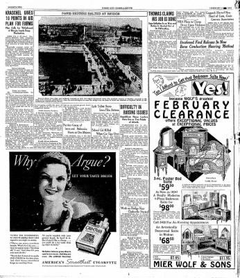 The Mason City Globe-Gazette from Mason City, Iowa on February 8, 1934 · Page 22