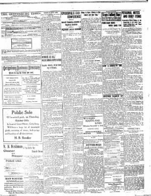 The Gettysburg Times from Gettysburg, Pennsylvania on October 27, 1913 · Page 4