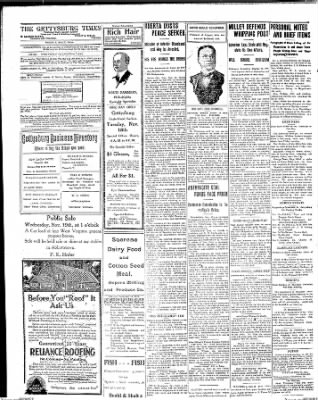 The Gettysburg Times from Gettysburg, Pennsylvania on November 17, 1913 · Page 4