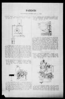 Official Gazette of the United States Patent Office from Washington, District of Columbia on February 5, 1924 · Page 85