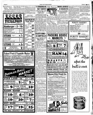 The Mason City Globe-Gazette from Mason City, Iowa on March 23, 1934 · Page 12