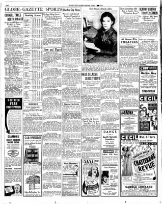 The Mason City Globe-Gazette from Mason City, Iowa on April 1, 1936 · Page 10