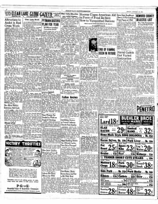 The Mason City Globe-Gazette from Mason City, Iowa on January 15, 1943 · Page 4