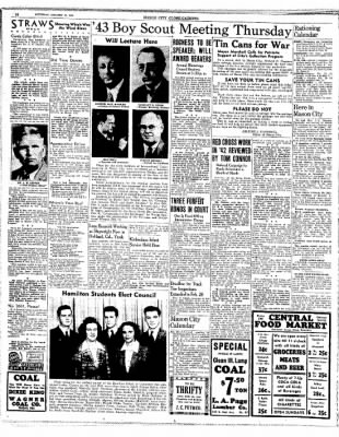 The Mason City Globe-Gazette from Mason City, Iowa on January 16, 1943 · Page 14