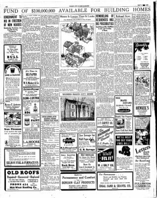 The Mason City Globe-Gazette from Mason City, Iowa on May 5, 1934 · Page 6