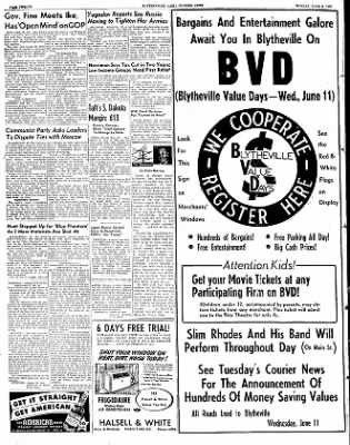 The Courier News from Blytheville, Arkansas on June 9, 1952 · Page 6