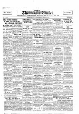 The Daily Courier from Connellsville, Pennsylvania on February 16, 1918 · Page 1