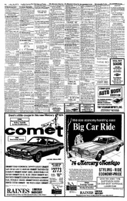 Sunday Gazette-Mail from Charleston, West Virginia on May 26, 1974 · Page 34