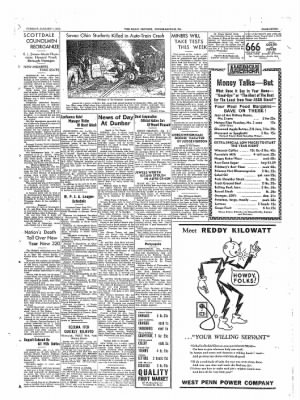 The Daily Courier from Connellsville, Pennsylvania on January 4, 1938 · Page 7