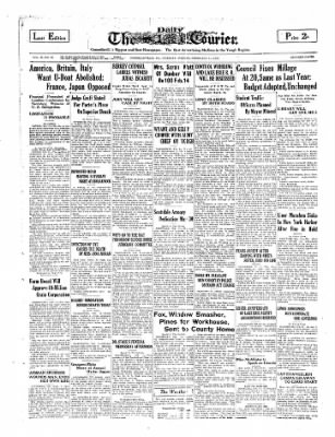 The Daily Courier from Connellsville, Pennsylvania on February 11, 1930 · Page 1