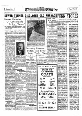 The Daily Courier from Connellsville, Pennsylvania on January 28, 1938 · Page 11