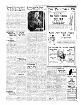 The Daily Courier from Connellsville, Pennsylvania on February 18, 1930 · Page 12