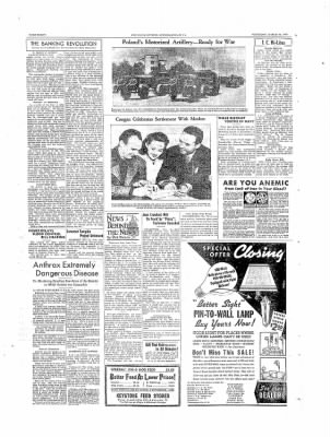 The Daily Courier from Connellsville, Pennsylvania on March 23, 1939 · Page 8