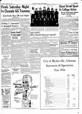 The Courier News from Blytheville, Arkansas on January 21, 1955 · Page 9