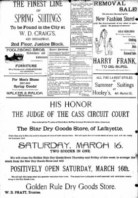 Logansport Pharos-Tribune from Logansport, Indiana on March 15, 1895 · Page 8