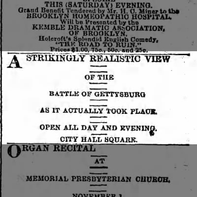 Advertisement for Gburg cyclo