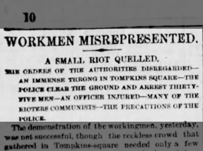 A Small Riot Quelled