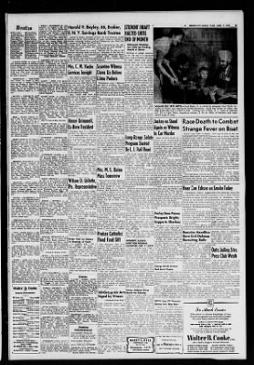 the brooklyn daily eagle from brooklyn new york on august 7 1951 page