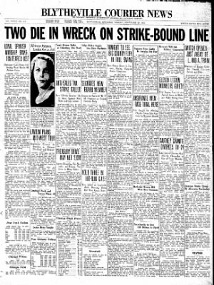 The Courier News from Blytheville, Arkansas on September 29, 1936 · Page 1