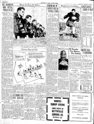 The Courier News from Blytheville, Arkansas on October 24, 1936 · Page 8