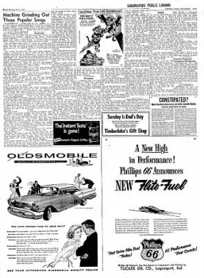Logansport Pharos-Tribune from Logansport, Indiana on June 11, 1957 · Page 23