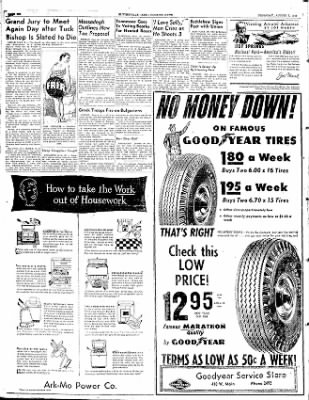 The Courier News from Blytheville, Arkansas on August 7, 1952 · Page 6