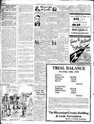 The Courier News from Blytheville, Arkansas on January 7, 1930 · Page 5