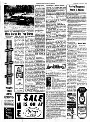 The Tipton Daily Tribune from Tipton, Indiana on January 12, 1971 · Page 6