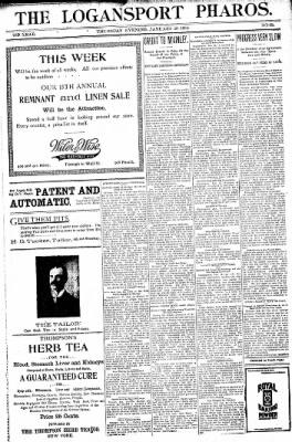 Logansport Pharos-Tribune from Logansport, Indiana on January 20, 1898 · Page 17