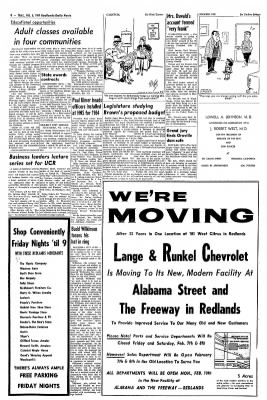 Redlands Daily Facts from Redlands, California on February 6, 1964 · Page 8