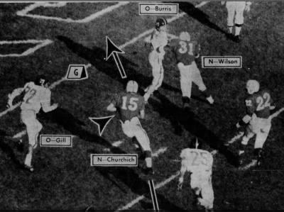 1966 Churchich TD vs Okla. State
