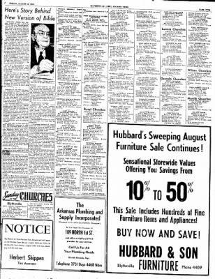 The Courier News from Blytheville, Arkansas on August 15, 1952 · Page 5