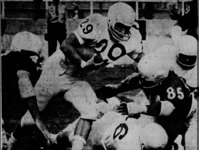 1966 Mick Ziegler spring game