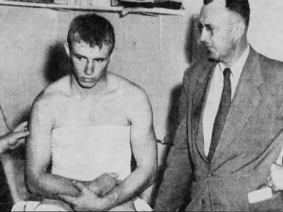 1951 Bobby Reynolds injury preseason