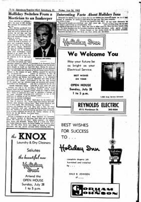 Galesburg Register-Mail from Galesburg, Illinois on July 26, 1963 · Page 35
