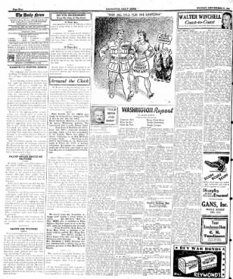 Naugatuck Daily News from Naugatuck, Connecticut on September 25, 1944 · Page 4