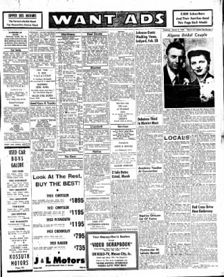 The Algona Upper Des Moines from Algona, Iowa on March 3, 1955 · Page 7