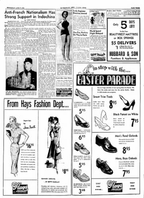 The Courier News from Blytheville, Arkansas on April 7, 1954 · Page 3
