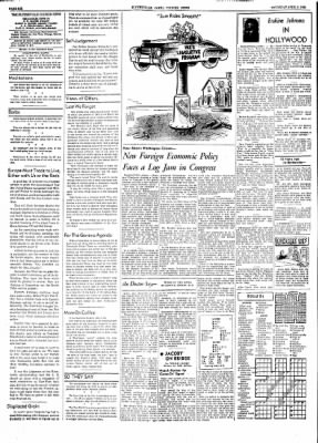 The Courier News from Blytheville, Arkansas on April 8, 1954 · Page 6