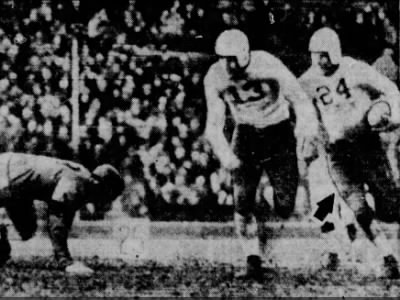 1936 Lloyd Cardwell vs Oregon State