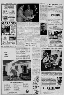 Arlington Heights Herald From Illinois On June 9 1960 Middot Page 44