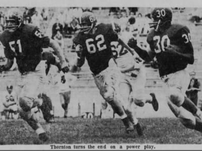 1961 Thunder Thornton spring game photo