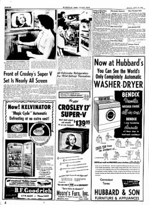 The Courier News from Blytheville, Arkansas on April 30, 1954 · Page 20